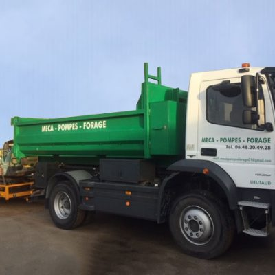 Camion Pompes forage